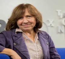 جائزة نوبل للاداب 2015 للبيلاروسية سفيتلانا اليكسييفيتش