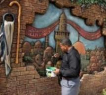 جداريات إسمنتية في غزة تنطق بهموم الوطن