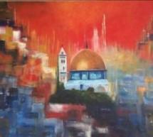 لحسن ملواني: القدس الشريف في لوحة التشكيلية التونسية حنان دربال