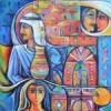 هموم المرأة الفلسطينية في أعمال فائز الحسني