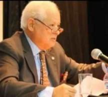 د. السّفير محمّد محمّد خطّابي: أوكتَافيُو بَاثْ رائد القصيدة الحسيّة فى أمريكا اللاّتينيّة