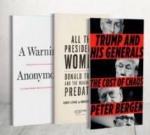 كاره النساء ورجل الفوضى المهزوز.. أسرار ترامب في مرمى ثلاثة كتب جديدة